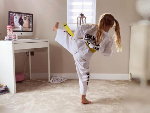 Learn Taekwondo at home with online courses
